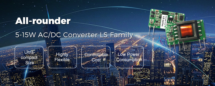All-rounder 5-15W AC/DC converters simplify your design
